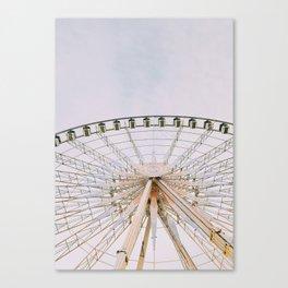 Paris de Roue Canvas Print