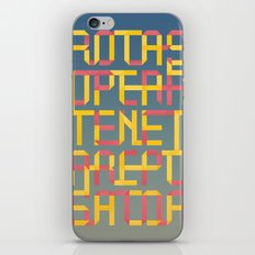 ROTAS SQUARE ORIGAMI iPhone & iPod Skin