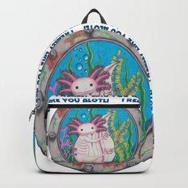 I like you Alotl! Backpack