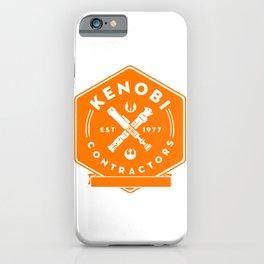 Kenobi Contractors iPhone Case
