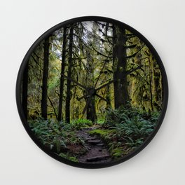 Hoh, Lush Forest Wall Clock