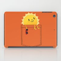 sunshine iPad Cases featuring Pocketful of sunshine by Picomodi