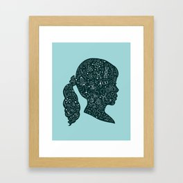 In a Science State of Mind Framed Art Print