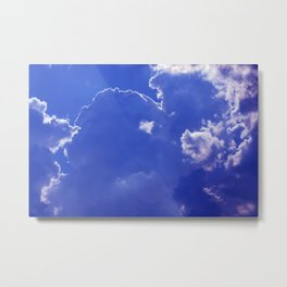 Clouds over Baden-Wurttemberg Metal Print