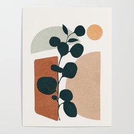 Soft Shapes V Poster