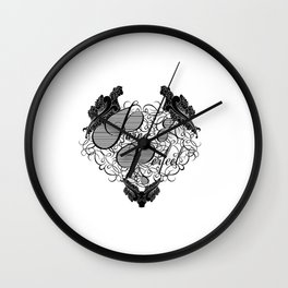 Pure and Purfect Wall Clock