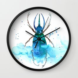 Scarabée Wall Clock