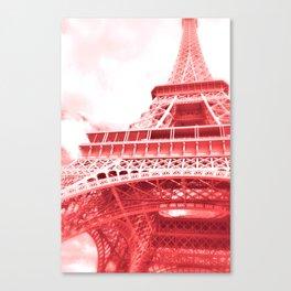 Eiffel Romance Canvas Print