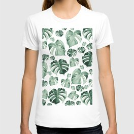Tropical Monstera Pattern #2 #tropical #decor #art #society6 T-shirt