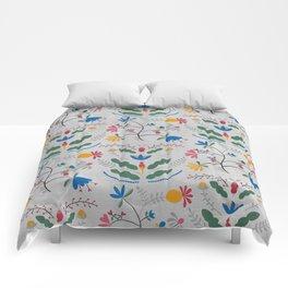 Kurbits – Blue Bell – Scandinavian Folk Art Comforters
