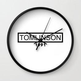TOMLINSON 1991 Wall Clock