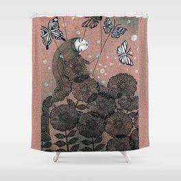 Night Garden (1) Shower Curtain