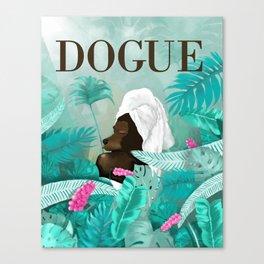 Dogue - Spring Canvas Print