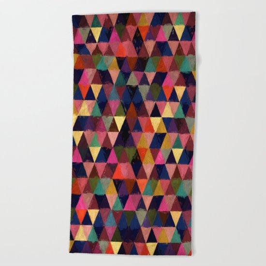 Abstract #374 Beach Towel
