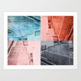 Popart Building Art Print