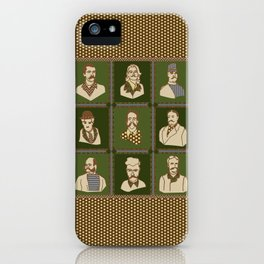 Men of the 'Stache iPhone Case