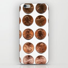 Twenty Cents (Penny Edition)  iPhone Skin