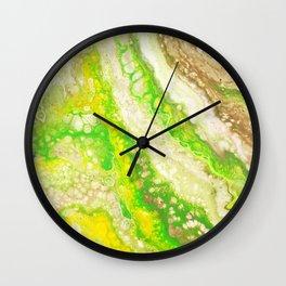 The Green Screen Wall Clock