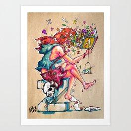 A2Z Art Print