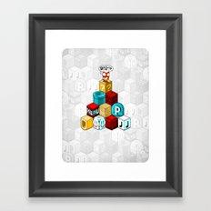 Q*BISM Framed Art Print