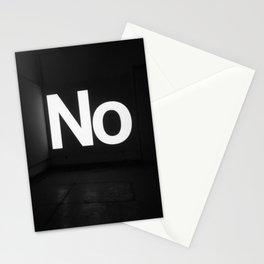 No Stationery Cards
