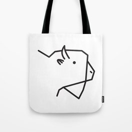 Minimalist American Buffalo Tote Bag