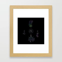 Ward Against the Evil Eye Framed Art Print