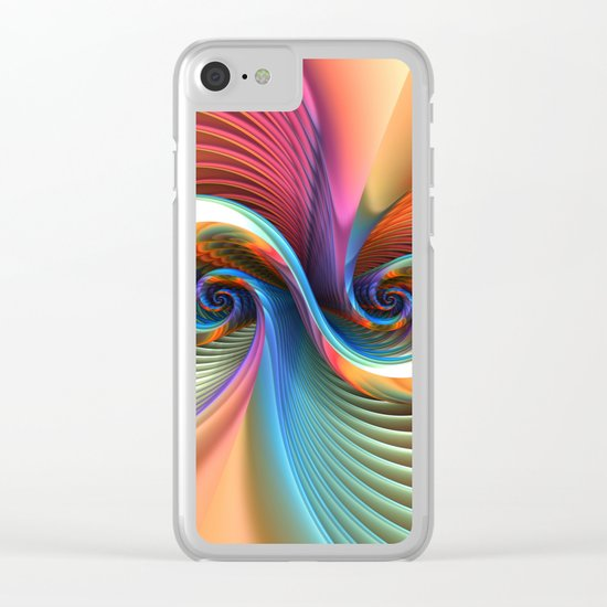 Double Trouble Clear iPhone Case