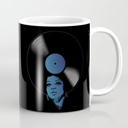 Afrovinyl (Kinda Blue) Coffee Mug