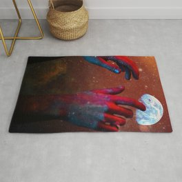 HANDS OF GOD Rug