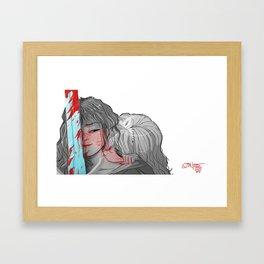 My Knight Framed Art Print