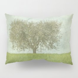 The Lone Olive Tree Pillow Sham