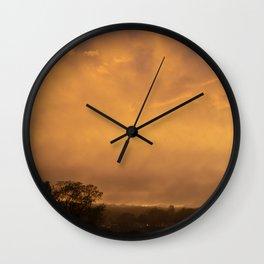 post-storm Wall Clock