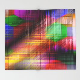 colourful linings II Throw Blanket