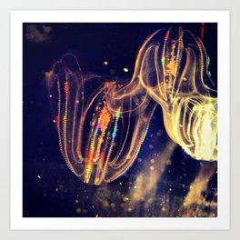 Deep Sea Jelly Art Print