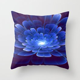 Blossom of Infinity Throw Pillow