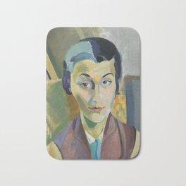 "Robert Delaunay ""Portrait of Maria Lani"" Bath Mat"