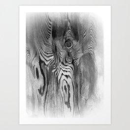 Dark Angel   Night Terrors   Horror   Nightmares   Nadia Bonello Art Print