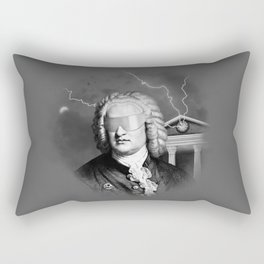 Bach To The Future Rectangular Pillow