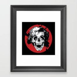 Gentlemen Prefer Skulls Framed Art Print