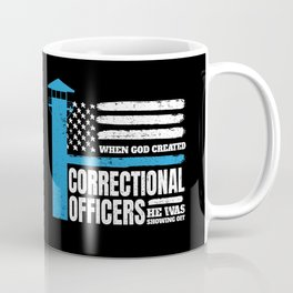 Correctional Officers American Christian Coffee Mug