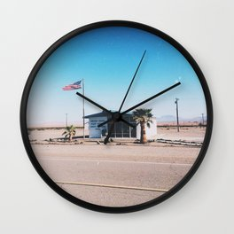 Route 66 Post Office Wall Clock