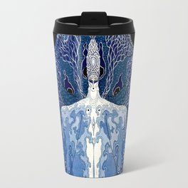 "Art Deco Design ""Monday Muse"" by Erté Travel Mug"