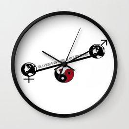 Cumbersome Song Lyric Art Print Wall Clock