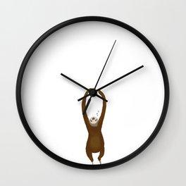 Procrastination Wall Clock