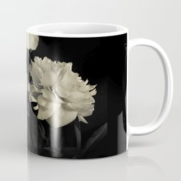 White peonies2 Coffee Mug