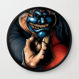 Get Down With the clown Wall Clock