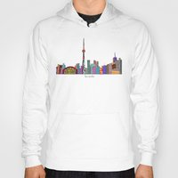 toronto Hoodies featuring Toronto by bri.buckley