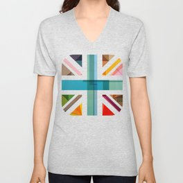 MultiCultural Britain Unisex V-Neck