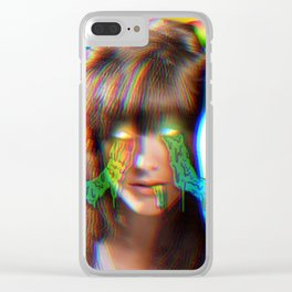 Rainbowdrip Clear iPhone Case